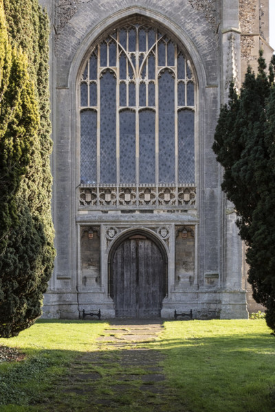Picture of St Mary, Mildenhall, Suffolk: the west entrance tower