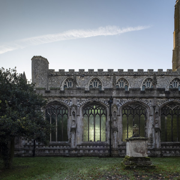 Picture of St Mary, Mildenhall, Suffolk: the north elevation