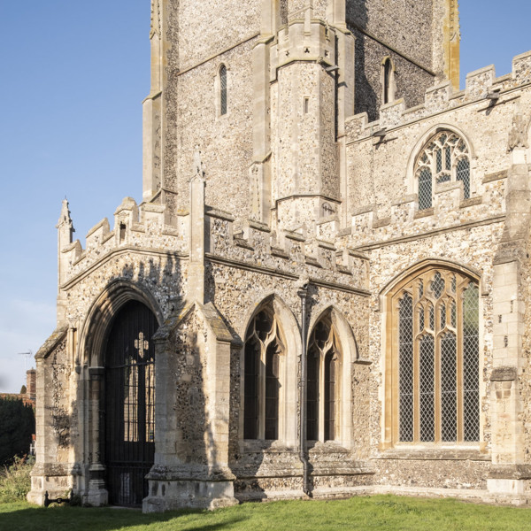 Picture of St Mary, Mildenhall, Suffolk: the south entrance porch