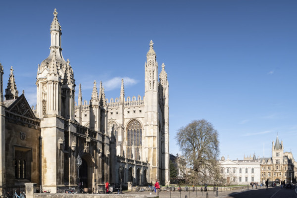 Picture of King's College Chapel, Cambridge seen from King's Parade