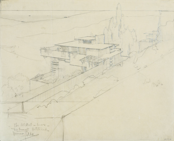 Picture of Design for a prefabricated 'All Steel' house, Los Angeles