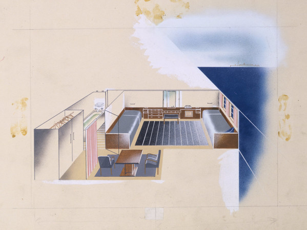Picture of Preliminary design for the interior of RMS Orion