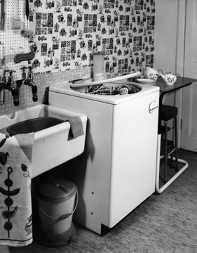 Picture of Example of a contemporary dishwasher