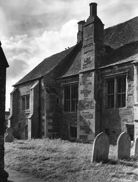 Picture of Bede House, Lyddington: part of the south front