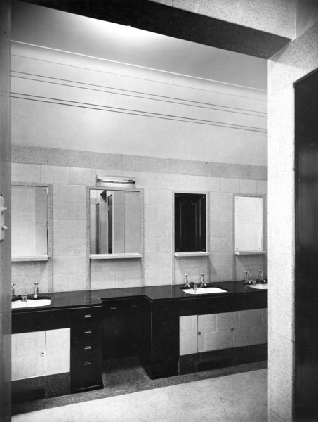 Picture of Alliance Assurance Company's Head Office, Bartholomew Lane, City of London: the directors' lavatory
