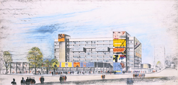Picture of Unexecuted competition design for a shopping centre at the Elephant and Castle, Southwark, London