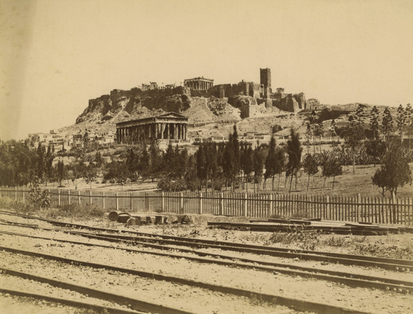 Picture of Acropolis and the Temple of Hephaestus, Athens