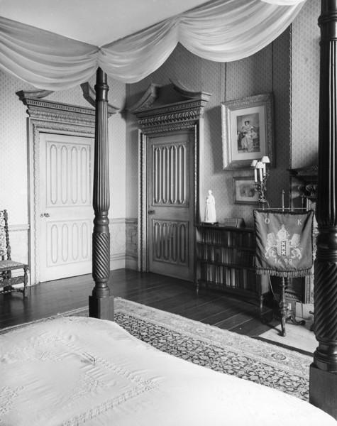 Picture of Claydon House, Middle Claydon, Buckinghamshire: Florence Nightingale's bedroom