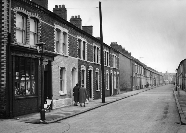 Picture of A street of small 19th century terraced houses, Belfast