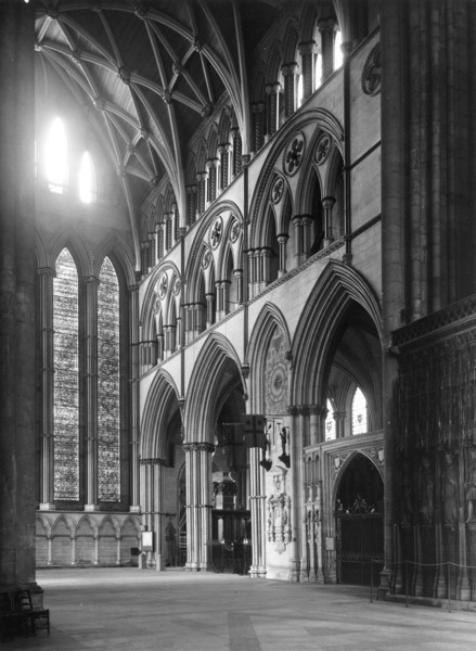 Picture of York Minster: the north transept