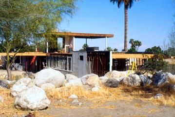 Picture of Kaufmann Desert House under renovation, Palm Springs, California