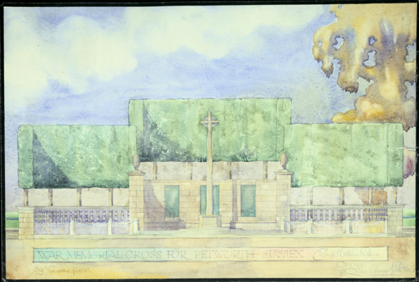 Picture of Design for a war memorial cross, Petworth