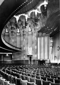 Picture of New Victoria Cinema, Wilton Road, London: the auditorium seen from rear of stalls right