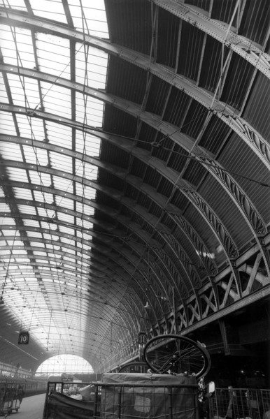 Picture of Paddington Station, London: the north train shed