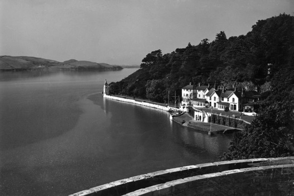 Picture of Estuary of the River Dwyryd and the Hotel, Portmeirion