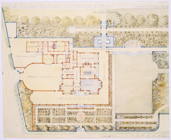 Picture of Design for a house and garden, The Links, Hythe