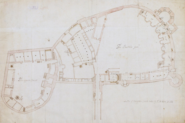 Picture of Plan of Nottingham Castle