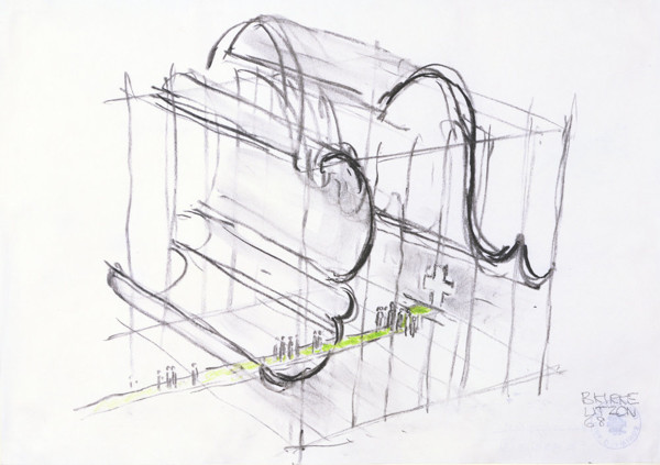 Picture of Design for a Church at Bagsvaerd, Copenhagen