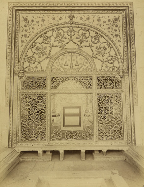 Picture of Khwabgah (Khass Mahal), Red Fort (Shahjahanabad Fort), Delhi: the Scales of Justice