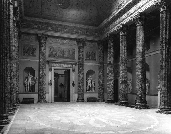 Picture of Kedleston Hall, Derbyshire: the Great Hall