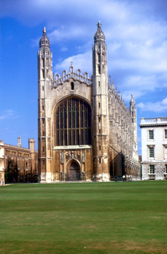 Picture of King's College Chapel, Cambridge: the west front