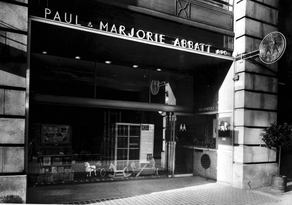 Picture of Toy shop for Paul and Marjorie Abbatt Limited, 94 Wimpole Street, London