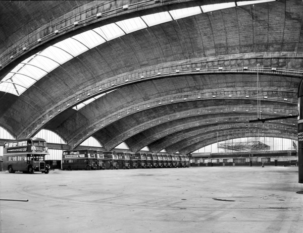 Picture of Stockwell bus garage, Lambeth, London