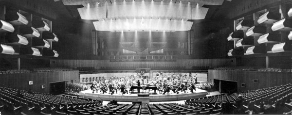 Picture of Royal Festival Hall, South Bank, London: panorama of the auditorium