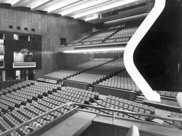 Picture of Royal Festival Hall, South Bank, London: the auditorium seen from a box