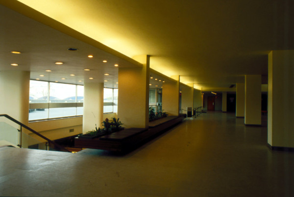 Picture of Royal Festival Hall, South Bank, London: an upper foyer
