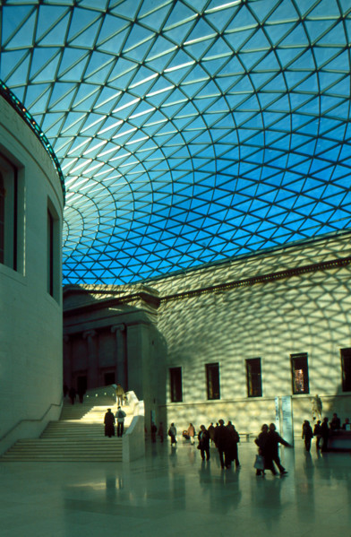 Picture of British Museum, Bloomsbury, London: the Great Court