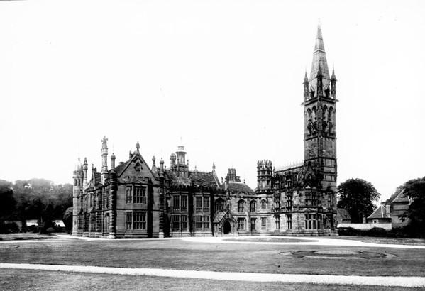 Picture of Scarisbrick Hall, Lancashire