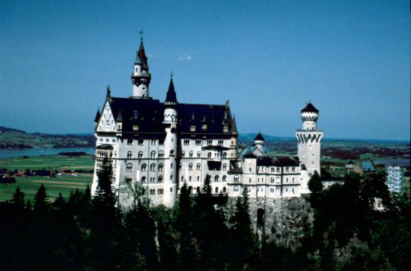 Picture of Schloss Neuschwanstein, Bavaria