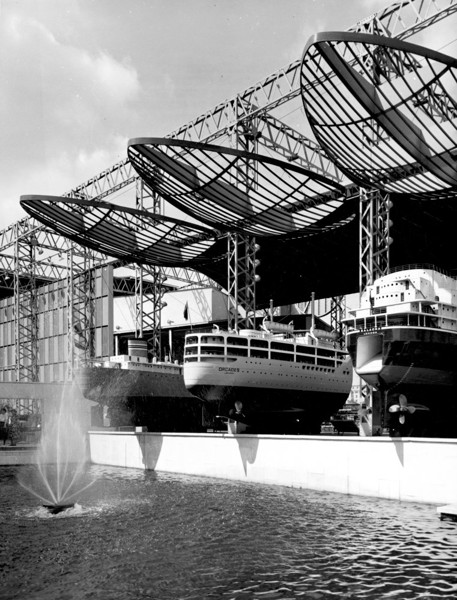 Picture of Sea and Ships Pavilion, Festival of Britain, South Bank, London