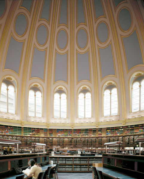 Picture of British Museum, Bloomsbury, London: Reading Room