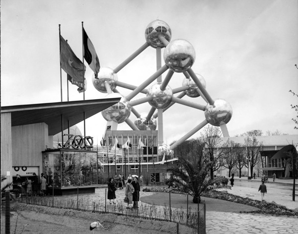Picture of Atomium, 1958 World's Fair, Brussels