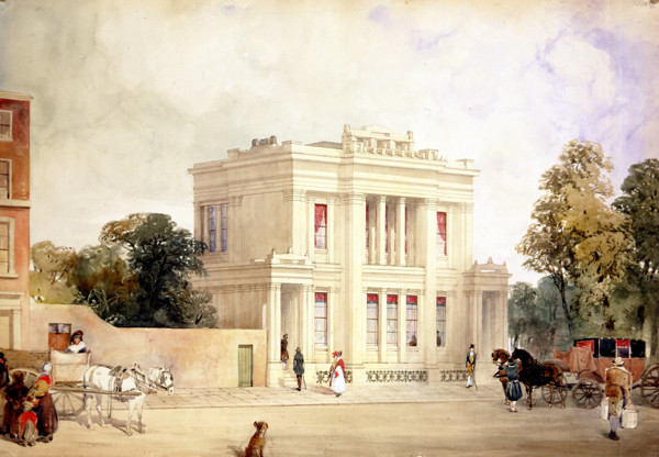 Picture of Design for the Library and Scientific Institution, Wellington Street, Islington, London