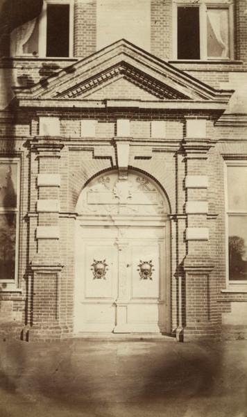 Picture of Garboldisham Manor, Norfolk:the pedimented main entrance