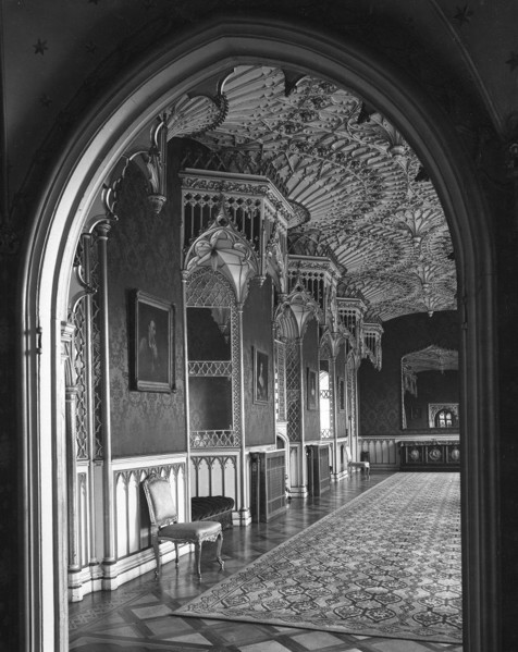 Picture of Strawberry Hill, Twickenham, London: the Long Gallery