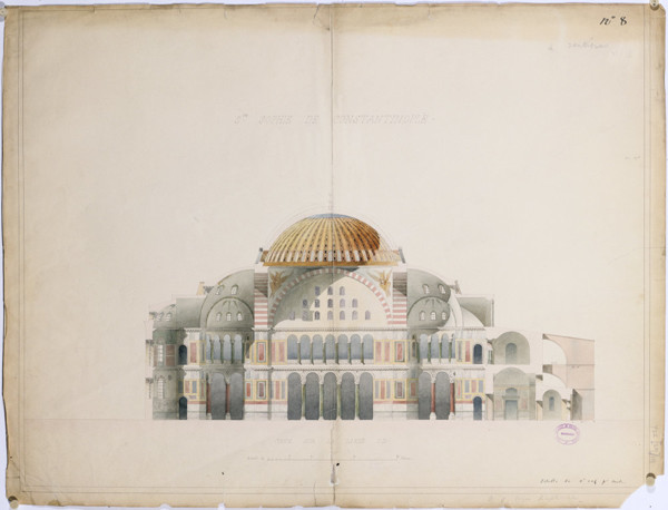 Picture of Views of Hagia Sophia, Istanbul: section