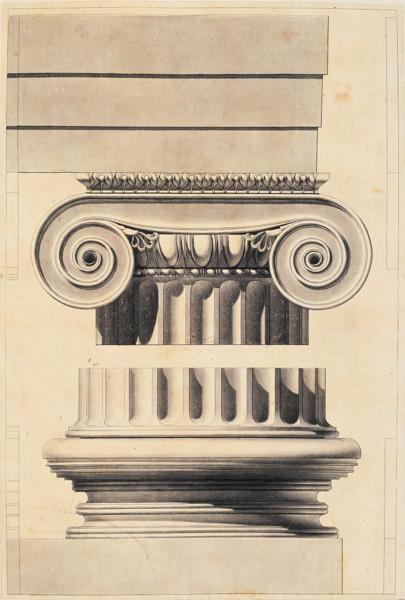 Picture of Column detail, Temple of Minerva Polias, Priene