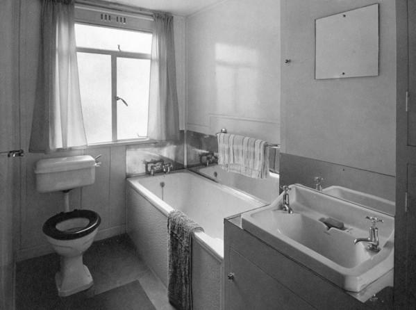 Picture of Aluminium temporary house: bathroom