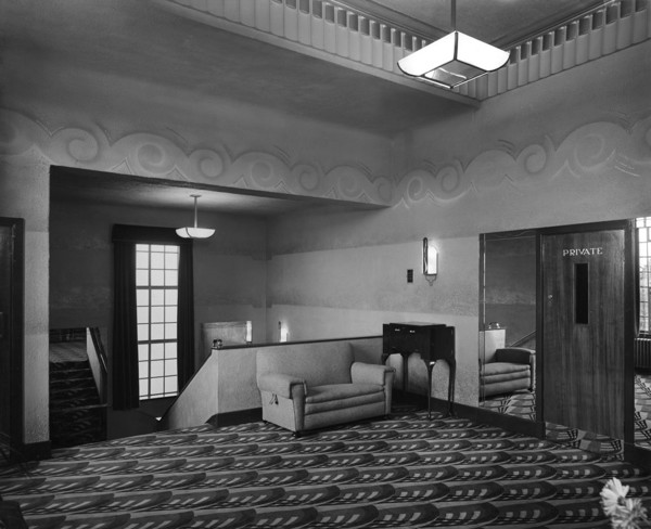 Picture of Northwick cinema, Ombersley Road, Worcester: the circle foyer