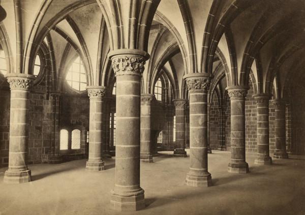 Picture of Abbaye de Mont St Michel: Salle des Chevaliers