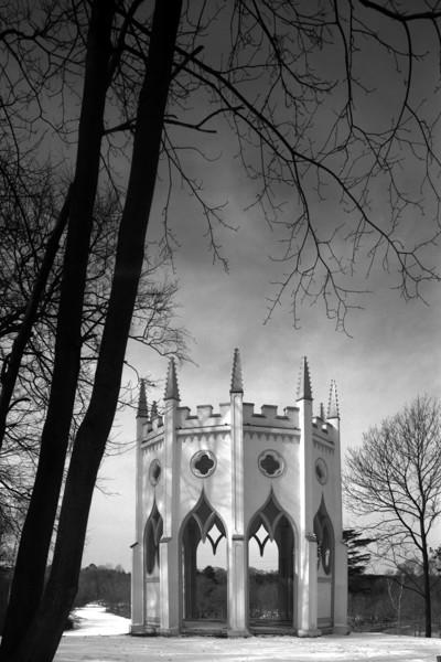 Picture of Painshill Park, Cobham, Surrey: the Gothic Temple