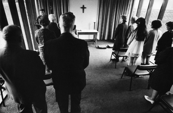 Picture of Anglican Church of St Philip and St James, Hodge Hill, Birmingham: service in a vestry
