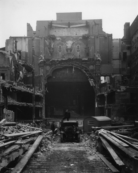 Picture of Demolition of the Alhambra Theatre, Leicester Square, London