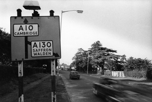 Picture of Along the old A10 in Trumpington, Cambridgeshire