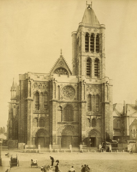Picture of Abbey Church of St Denis, Paris: the west front