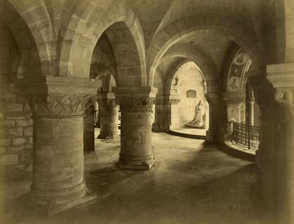 Picture of Abbey Church of St Denis, Paris: the crypt